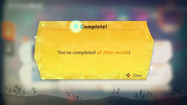 Ring Fit Adventure you've completed all main worlds 100%