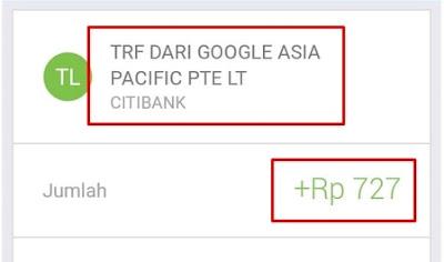 Kode Verifikasi Google AdSense