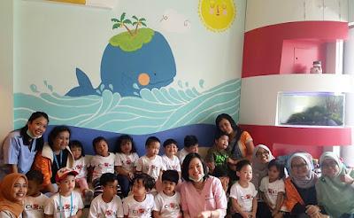 Kunjungan murid dan guru