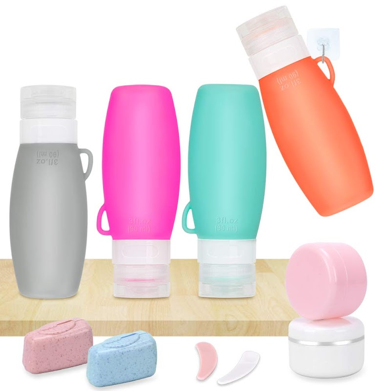 50%OFF  Leak Proof Travel-Bottles TSA Approved Containers
