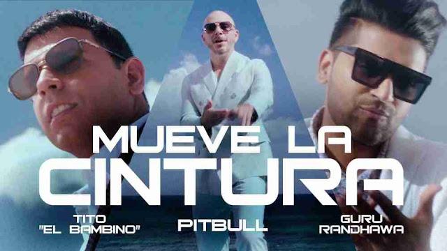 Mueve La Cintura Lyrics in English - Pitbull | Guru Randhawa