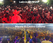 Compare os vídeos – Qual convenção deu mais gente em Lago da Pedra?