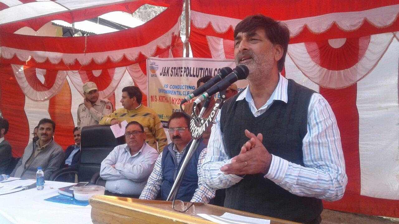 Asif Iqbal Naik: 162 71 Cr environmental plan unveiled for Karthai I