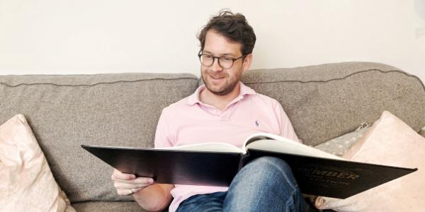 historic newspapers birthday newspaper book man reading book