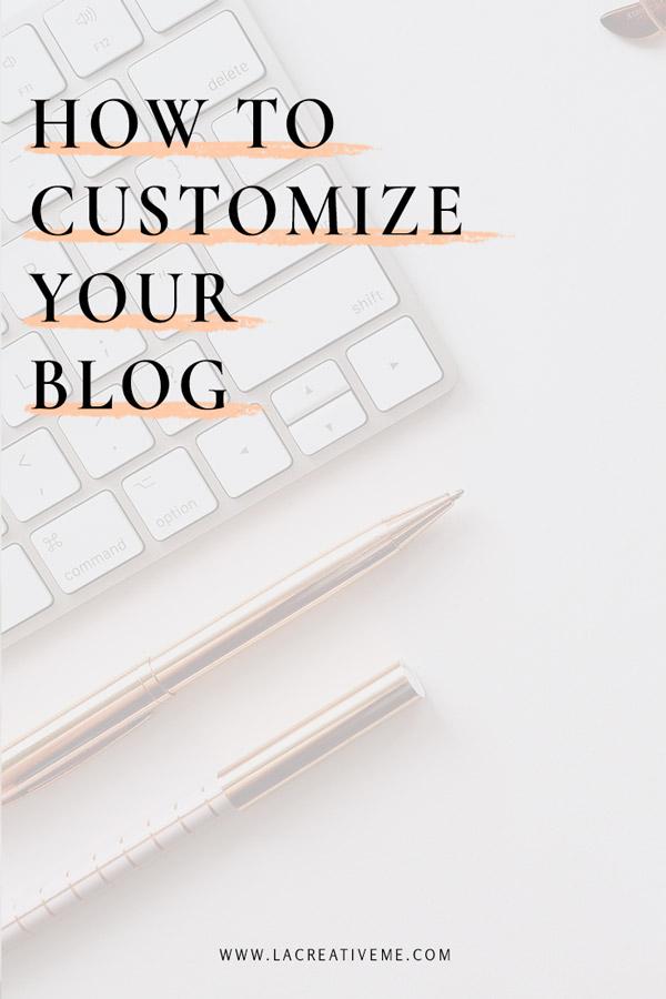 Πως να διαμορφώσεις το blog σου με ένα κλικ