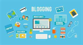 Kerja sampingan bloging