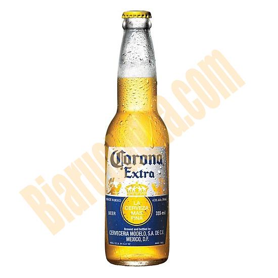 Bia chai Corona Extra Mexico