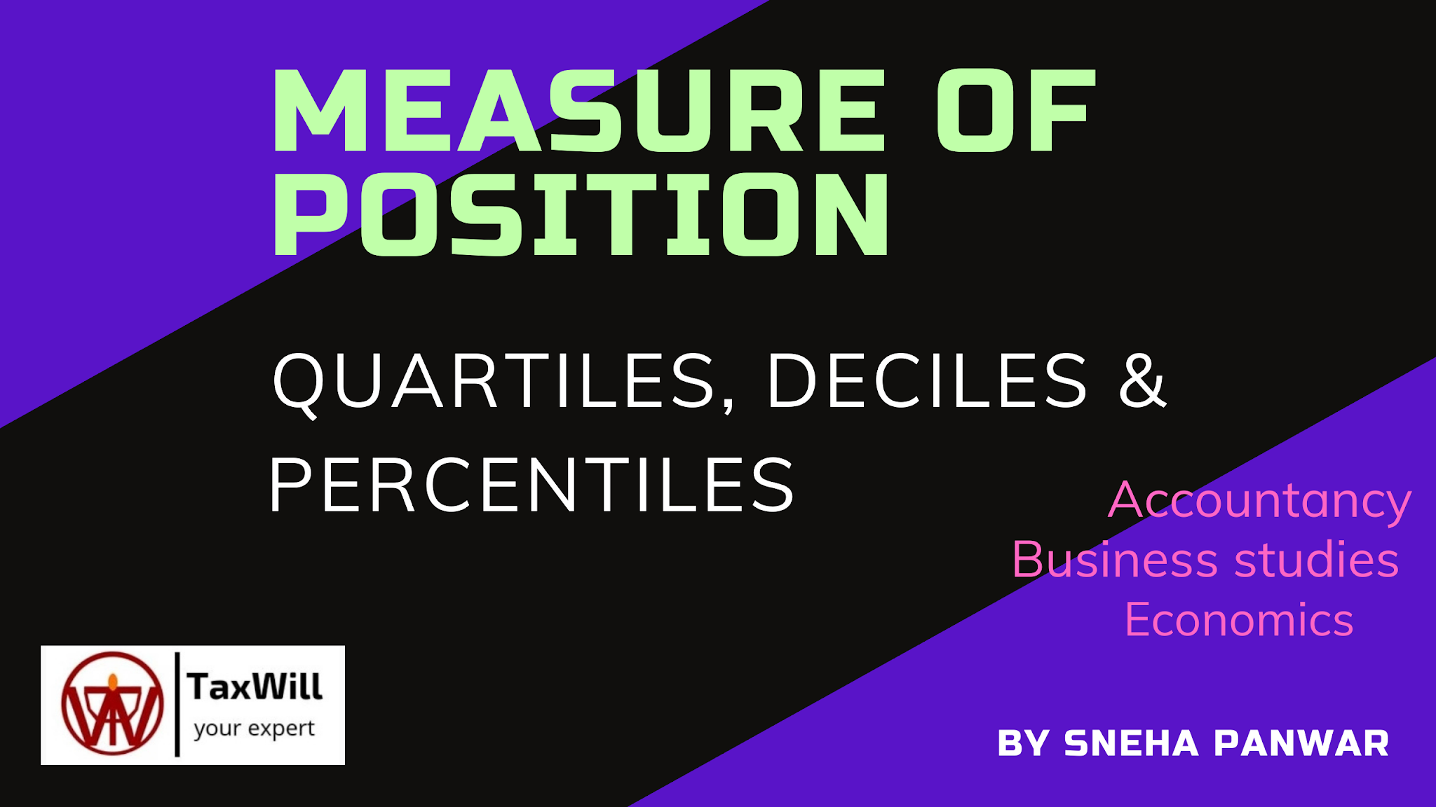 Measure of position