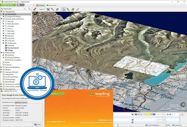 ARANZ Geo Leapfrog v4.0.0 Full Licensi