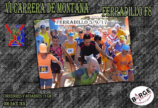 Carrera de Montaña Ferradillo F8 2017