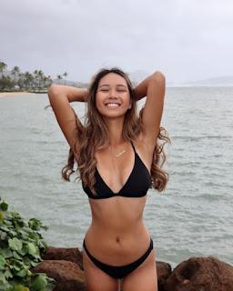 One Of Collin Morikawas Girlfiend Katherine Zhus Famous Bikini Shots