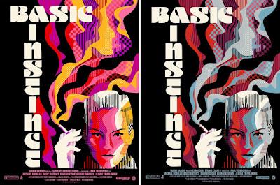 San Diego Comic-Con 2021 Exclusive Basic Instinct Screen Print by We Buy Your Kids x Nautilus Art Prints x Mondo