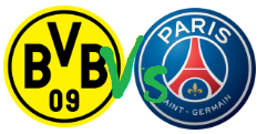BORUSSIA DORTMUND vs PARIS SAINT GERMAIN