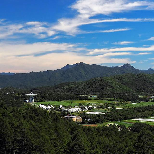 国立天文台 野辺山宇宙電波観測所 パラボラアンテナ