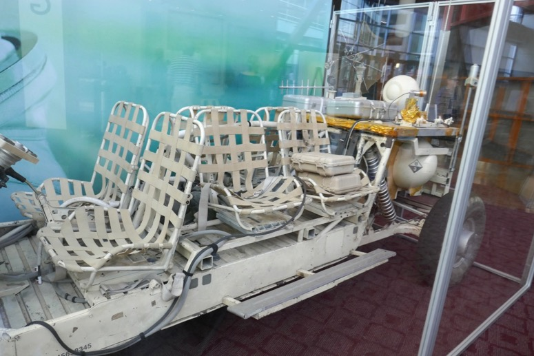 Ad Astra movie vehicle seats