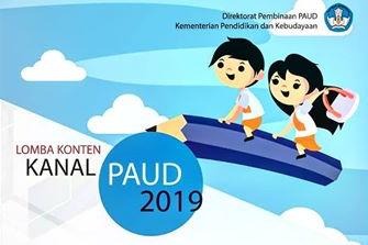 Lomba Konten Kanal PAUD Tahun 2019
