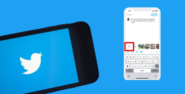 كيفية إرسال تغريدات صوتية على تويتر
