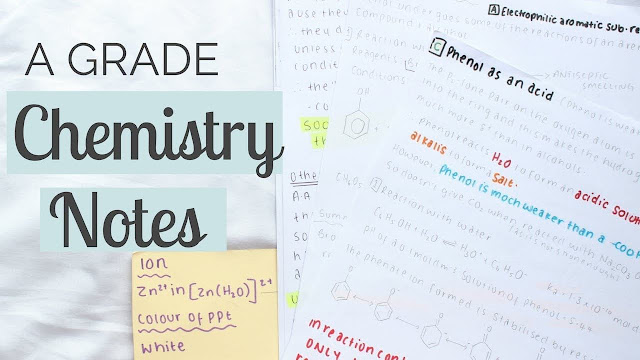 Hsslive Plus Two(+2) Chemistry Notes & Plus One (+1) Chemistry Notes