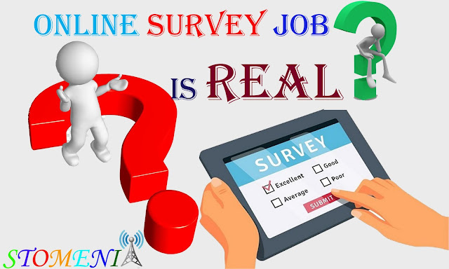 Is Online Survey Job Real????