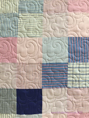 'Popcorn' quilting Pattern by Willow Leaf Studio