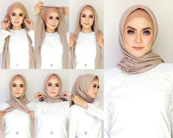 Tutorial Hijab Simple dan Anti Ribet