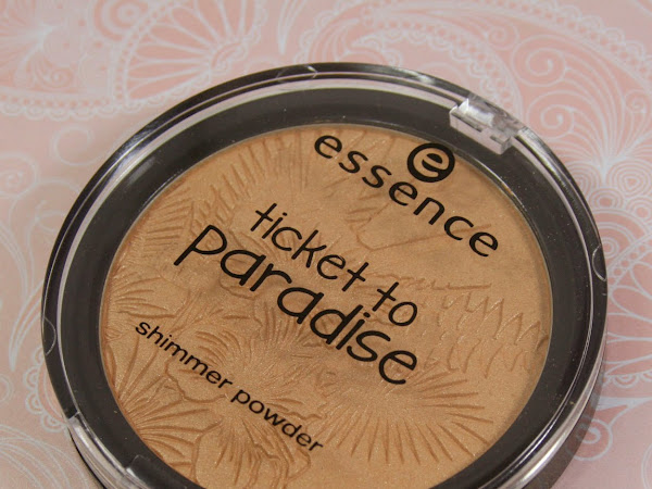 Essence Ticket to Paradise - Tropical Heat Shimmer Powder Swatches & Review