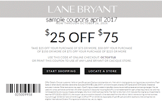 Lane Bryant coupons april