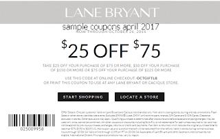 Lane Bryant coupons april