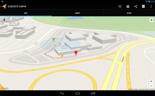 Aplikasi Android My Tracks