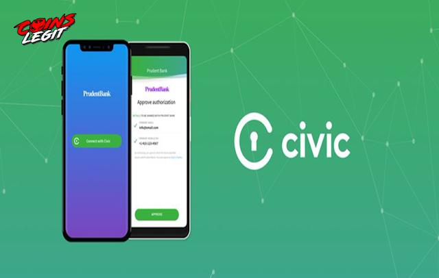 Airdrop CIVIC - Free 25000 CVC Token