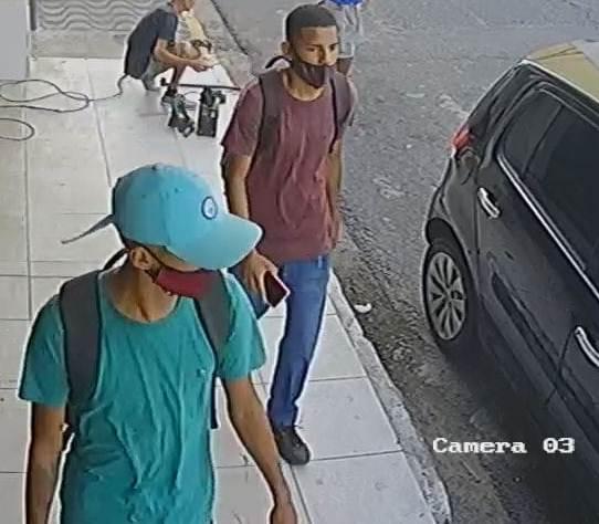 Polícia Civil divulga imagens de suspeitos a roubo de veículo no RN