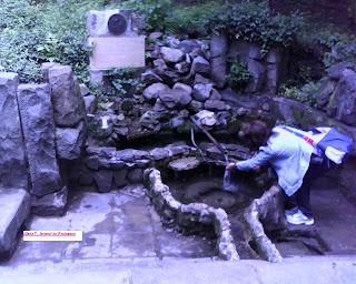 Izvorul Mihai Eminescu din Parcul Cișmigiu. Spring Eminescu in Park Cişmigiu