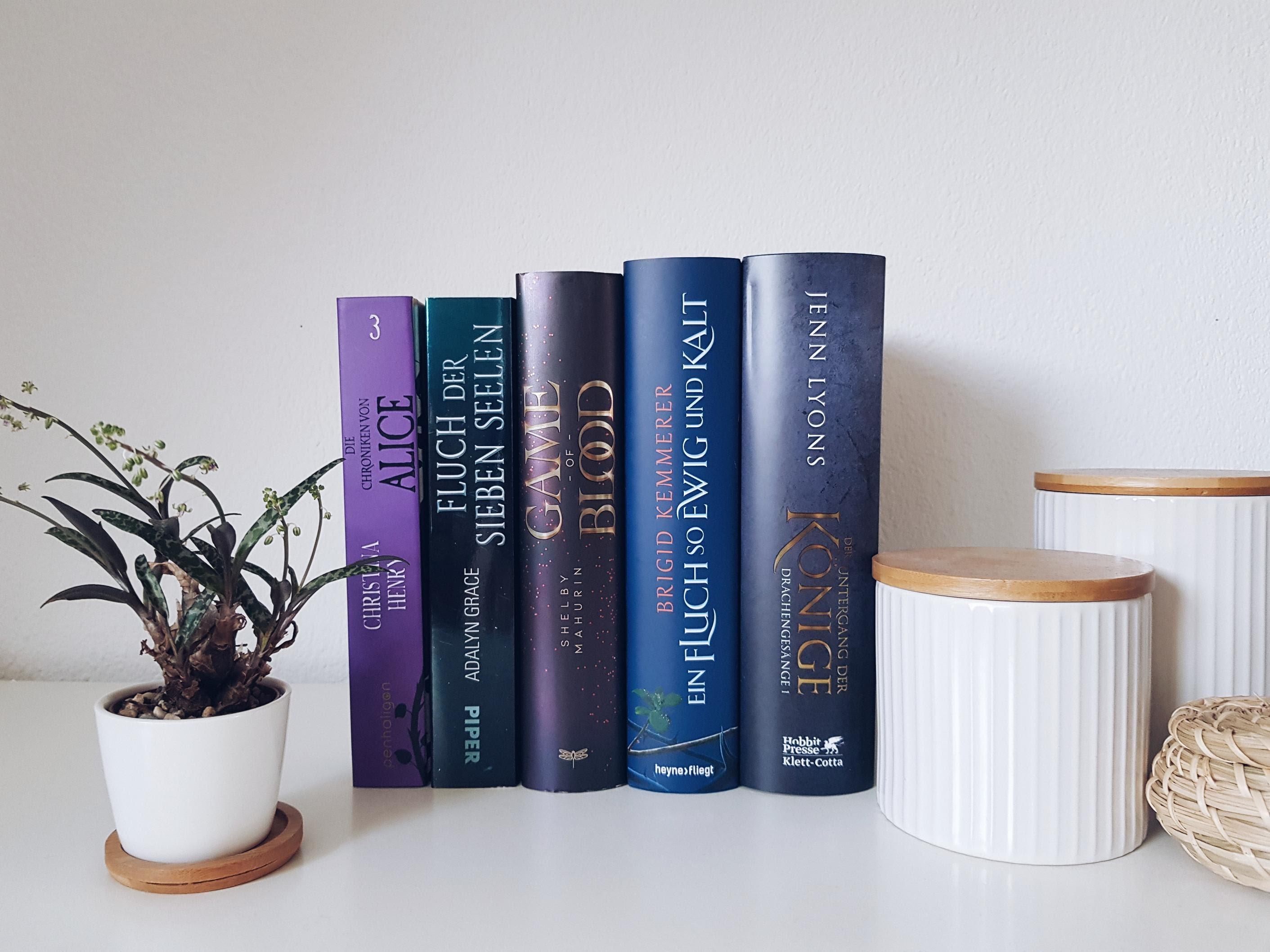 Bücherblog. Neuzugänge Bücher. Jugendbuch. Fantasy. April 2021.