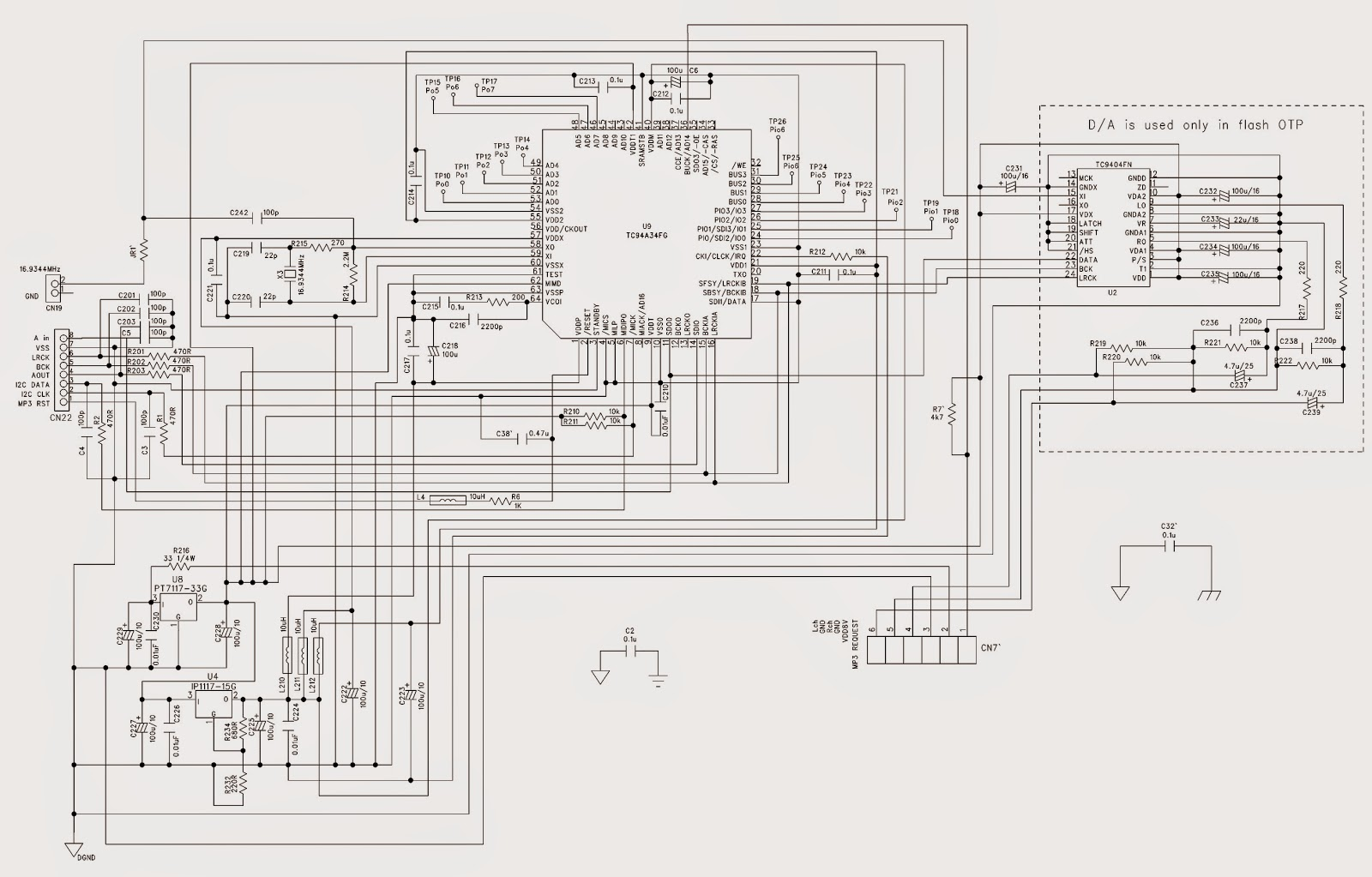 Philips Az Mp3 Cd Sound Machine Schematic