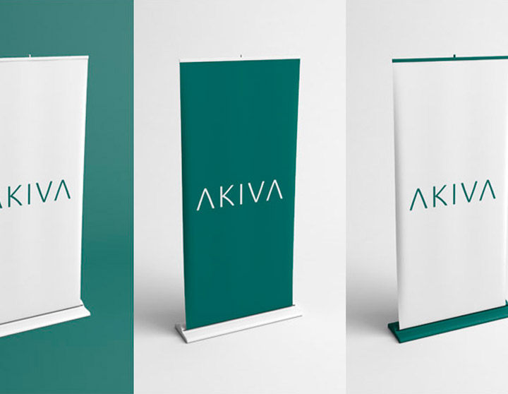 Rollup Banner Mockup Free PSD