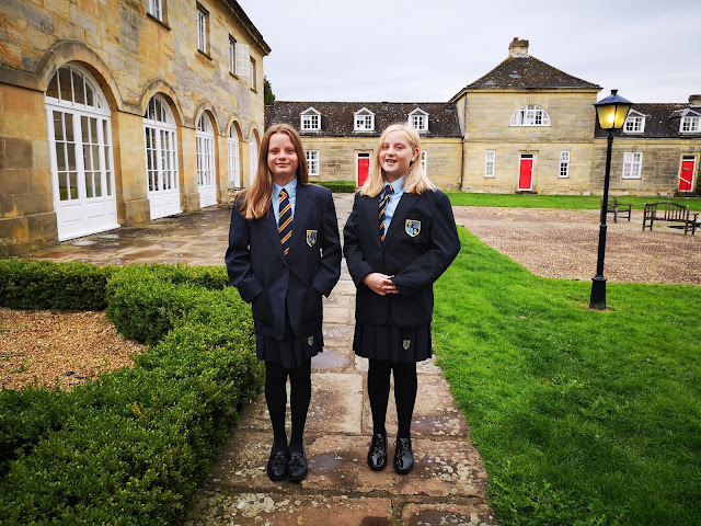 Year 7 twin girls
