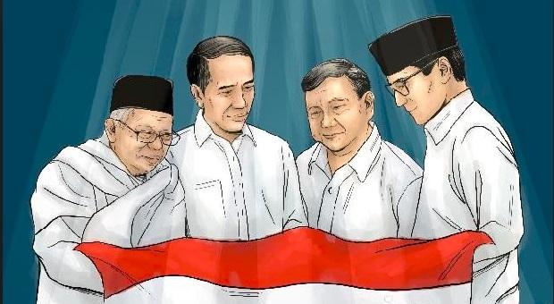 Survei Big Data: Tanpa Libatkan Akun Palsu, Jokowi Diperkirakan Kalah