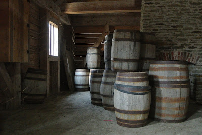 Barriles de roble, ron rum rhum proceso de elaboración