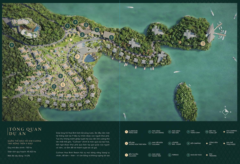 Biệt thự nghỉ dưỡng Cullinan Resort Hòa Bình