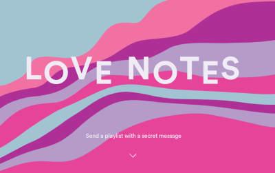 spotify messaggio e lista