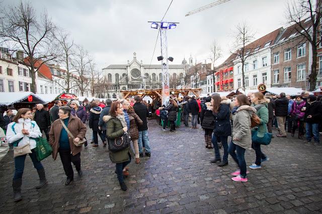 Mercatini di Natale a Marché aux poissons-Bruxelles