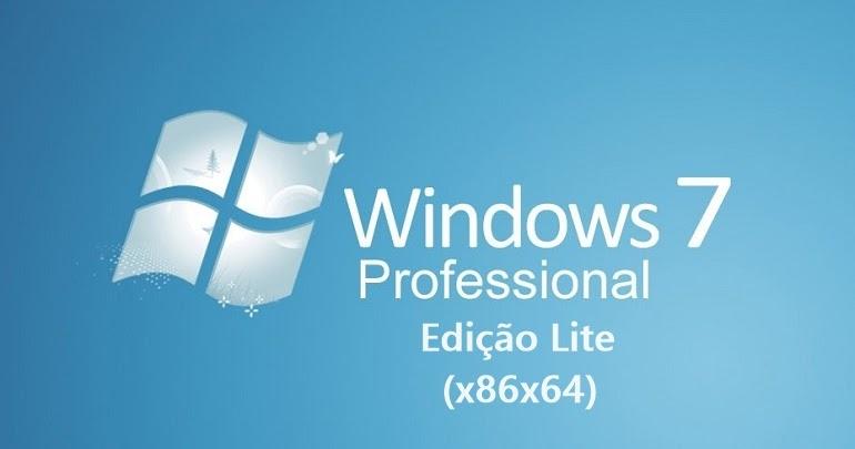 Windows 7 Lite 4.0 Euler AIO pt-BR x86/x64 2021 Download Grátis