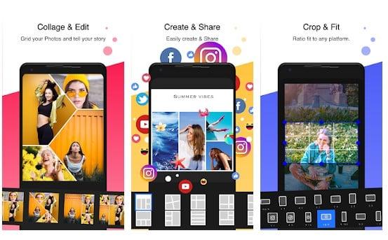 10 Aplikasi Kolase Foto (Photo Collage) Terbaik di Android - Aplikasi Kolase Foto Kekinian PhotoGrid