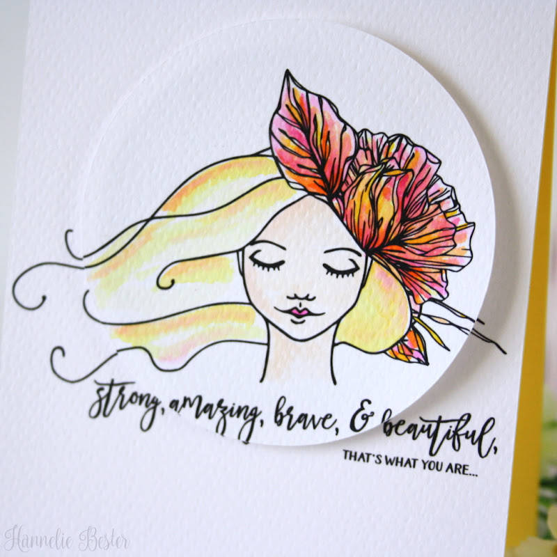 Dreamy girls - Graciellie design- watercolor