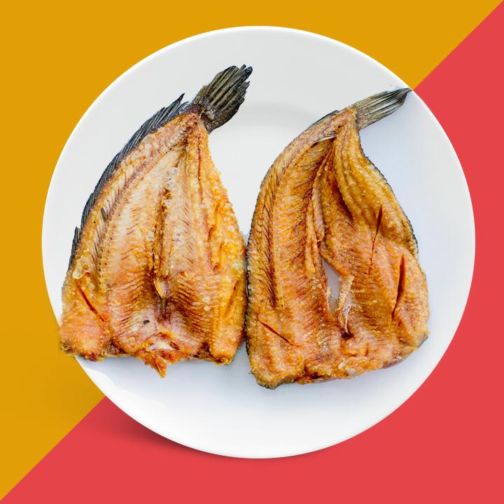 Khô cá lóc lạt vừa ăn