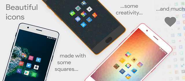 Talitha Square – Oreo Adaptive Icon Pack v14 APK indir