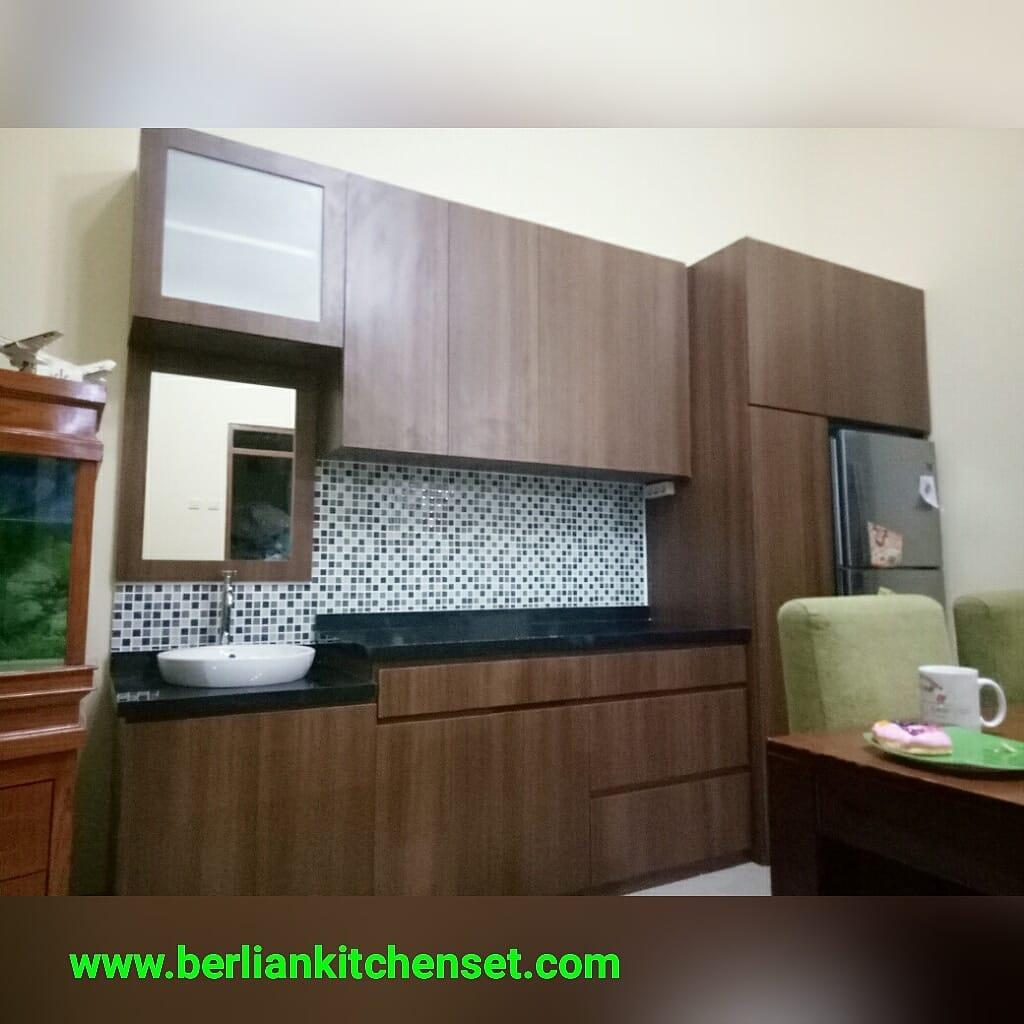 Kitchen Set Ukuran 1 Meter: BERLIAN KITCHEN SET MINIMALIS MURAH