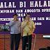 Halal Bi Halal DPRD Klaten Sepi. Glondang Bangku Kosong Dewan dan Tamu Tak Komplit.