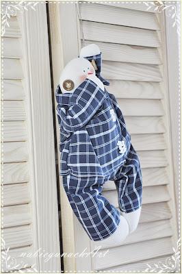 Bałwanek w piżamie