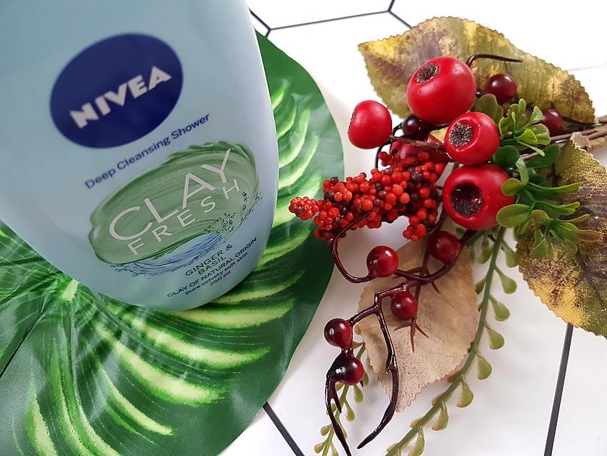NIVEA clay fresh glinka imbir i bazylia
